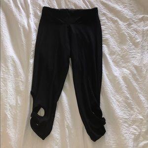 Pants - Detailed cropped leggings S/M